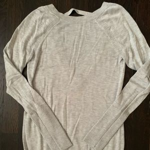 Perfect Condition lululemon sweater with open back
